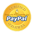 Secured payment by Paypal