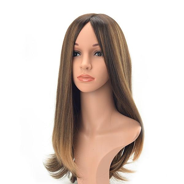 Long layer Long hair natural straight European hair Jewish wig