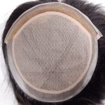 LW0202 Invisible Hairline Chinese Virgin Hair Silk Top Women Hairpiece