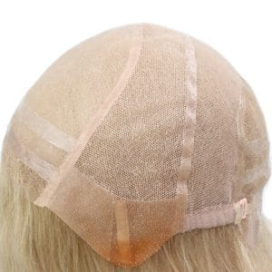 Anti-slip silicon Mono Top Human Hair Medical Wig for Women