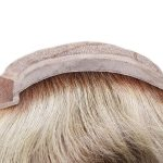LW2457 Mongolian Hair Lace Front Silk Top Hair Piece for Women