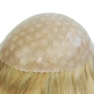 Skin with Gause all over Women's Hair Piece