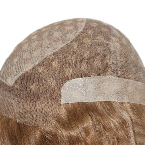 LT620: Human Hair Invisible Knots Silk Top Full Lace Wig