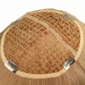 High Quality Blonde Custom Made Integration Hair System