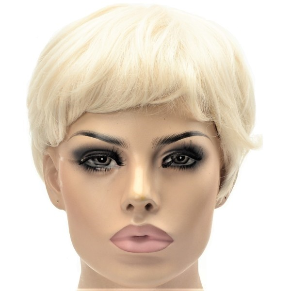 synthetic women's wig pixie crop