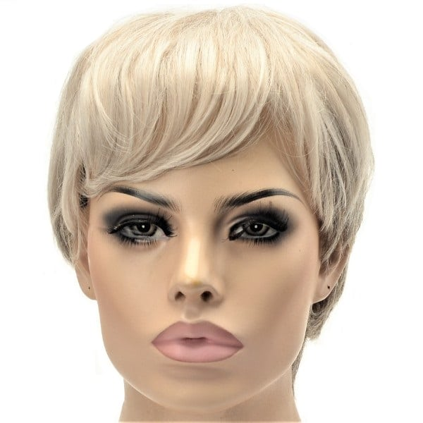 pixie crop short ladies synthetic wig