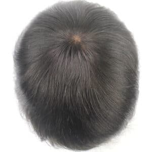 Stock Immediate Shipment 100% Human Hair System Replacement Wigs for Men (4)