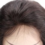 High Quality Stock Ladies Black Human Hair Lace Closure and Frontal