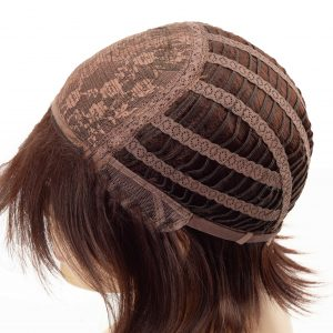 Stylish Chestnut Brown Bob Ladies Synthetic Wiglet (5)