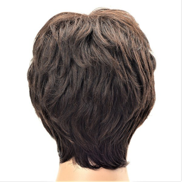 Ladies chestnut synthetic short wig