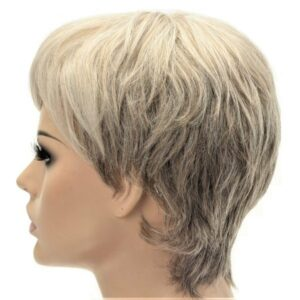 Natural Blonde Short High Quality Synthetic Women's Wig
