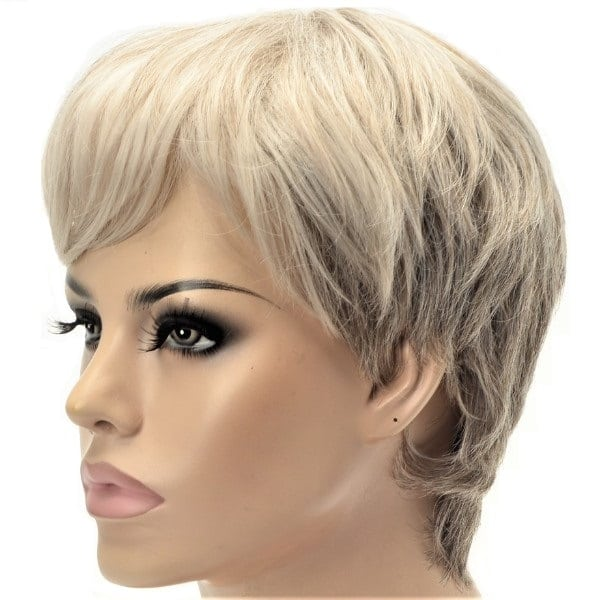 synthetic short ladies wig