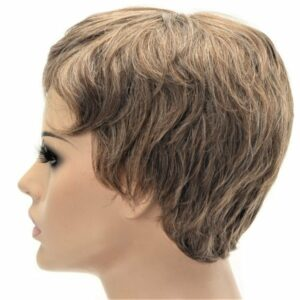 Short Light Brown Women's High Quality Synthetic Wig