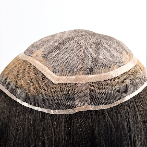 Custom Silk top and Lace Base Women's Hair Replacement System