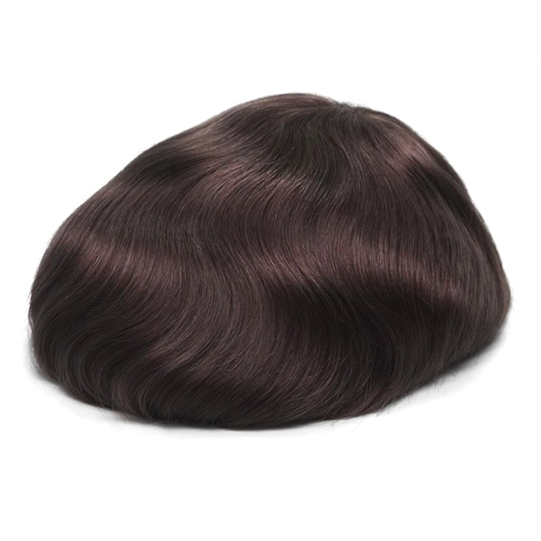 HS25 Ultra Thin Skin 0.03mm V-looped Stock Toupee (3)
