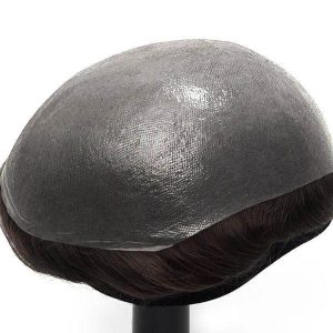 HS25 Ultra Thin Skin 0.03mm V-looped Stock Toupee
