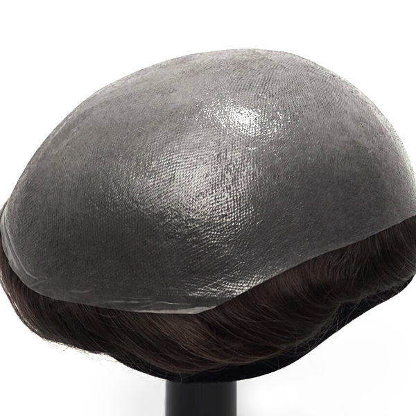 HS25 Ultra Thin Skin 0.03mm V-looped Stock Toupee (6)