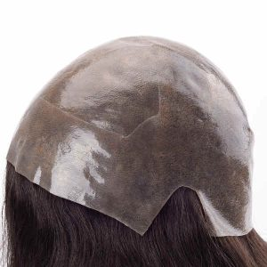 LL648 Injected skin wig with anti-slip silicon no need glue or tape