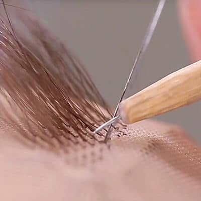 How to Ventilate Hair to Silk Top Hair Systems
