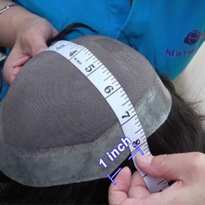 How to Measure The Base Size of A Hair Replacement System