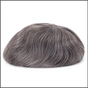 Different Gray Hair Types and How to Choose the Correct One for Custom Men's Toupees
