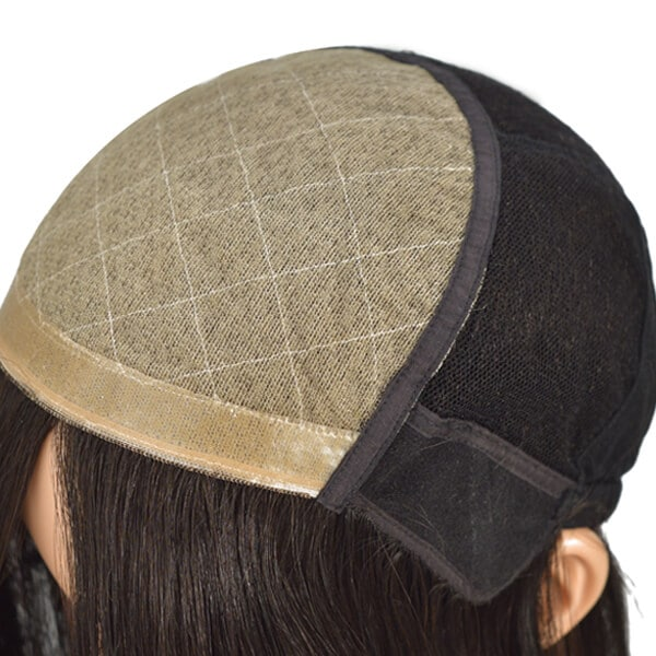Best Quality Medical Wigs Virgin Hair Stock Cap Wigs For Cancer Patients (5)