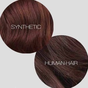 What Is the Difference Between Synthetic and Human Hair Wigs?