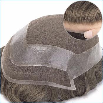 HOLLYWOOD Men's Toupee, Toupee for men, Toupee hair, Human hair toupee, men's human hair toupee