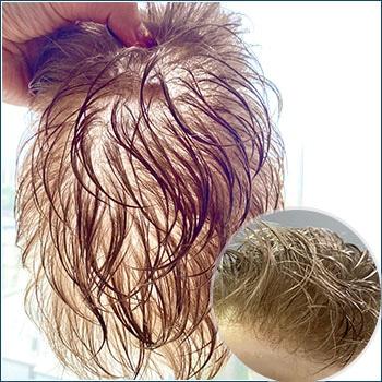 HS25-V Men's Toupee, Toupee for men, Toupee hair, Human hair toupee, men's human hair toupee