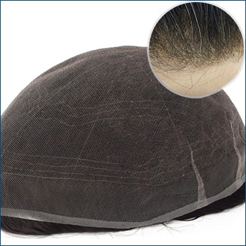 HS7 Men's Toupee, Toupee for men, Toupee hair, Human hair toupee, men's human hair toupee