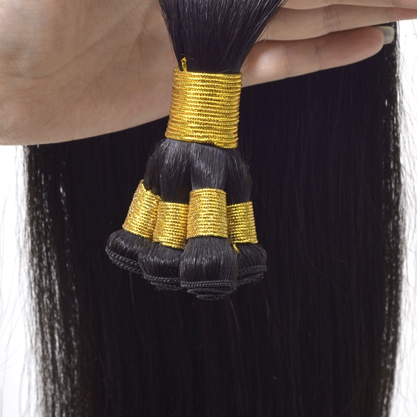 Hand Tied Weft Extensions with Best Virgin Hair New Times Hair
