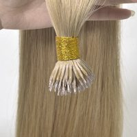 Nano Ring Hair Extensions with Best Virgin Hair New Times Hair