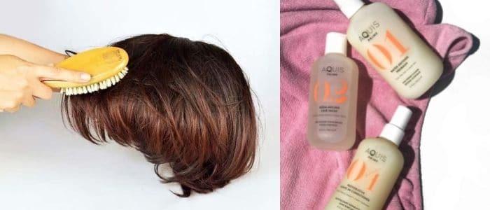 wash a hair system